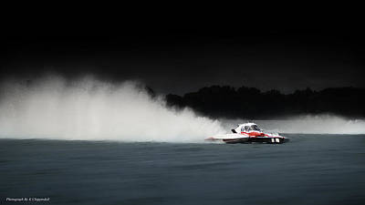Photograph - Taree Race Boats 2015 01 by Kevin Chippindall
