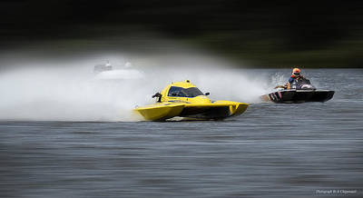 Photograph - Taree Race Boats 2015 09 by Kevin Chippindall