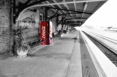 Photograph - Taree Railway Station 0001 by Kevin Chippindall