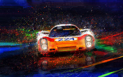 Painting - Targa Tempest by Alan Greene