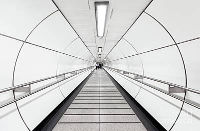 London Tube Mixed Media - Target Lines by Svetlana Sewell