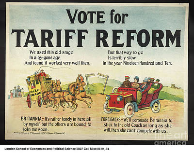 Reform Digital Art - Tariff Reform by Frederick Holiday