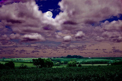 Photograph - Tarkio Moon by Steve Karol