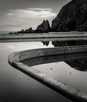Photograph - Tarlair Pool by Dave Bowman