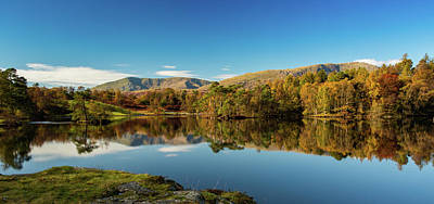 Tarn Hows Art Print by Mike Taylor