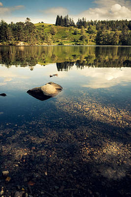 Tarn Hows Reflections Art Print