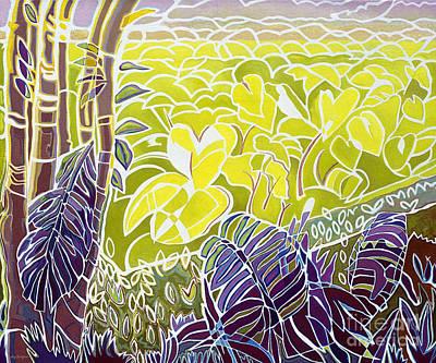 Natural Resources Painting - Taro by Fay Biegun - Printscapes