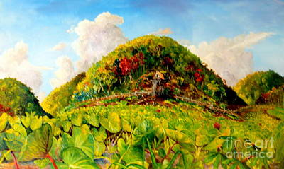 Fagot Painting - Taro Garden by Jason Sentuf