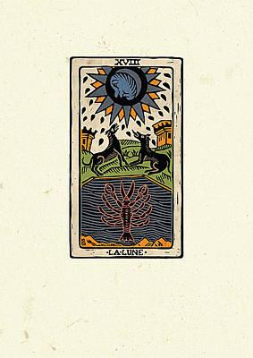 Tarot - The Moon Original