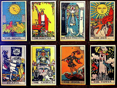 Photograph - Tarot Cards by Denise Mazzocco