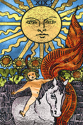 Tarot Gold Edition - Major Arcana - The Sun Original