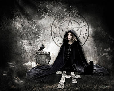 Photograph - Tarot Reader by Diana Haronis