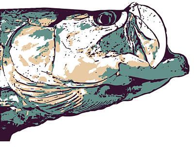 Swordfish Mixed Media - Tarpon Artwork by David Danforth
