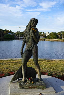 Photograph - Tarpon Mermaid by Laurie Perry