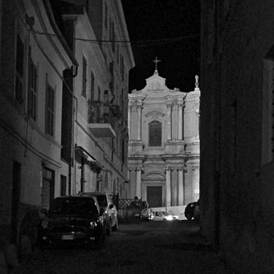 Photograph - Tarquinia At Night by Eric Tressler