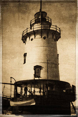 Photograph - Tarrytown Lighthouse by Colleen Kammerer
