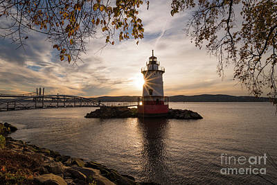 Photograph - Tarrytown Lighthouse by Zawhaus Photography