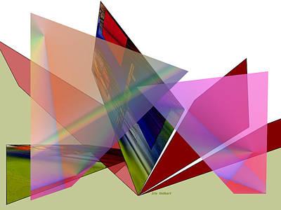 Digital Art - Tartan Cloud by Iris Gelbart