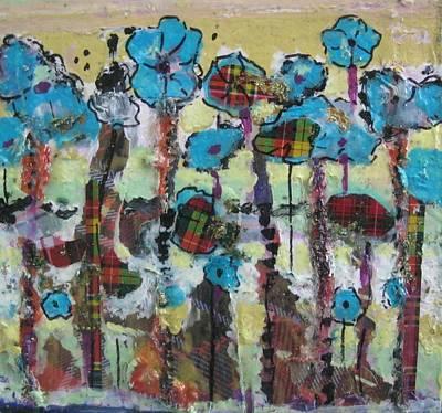 Tartan Garden Art Print