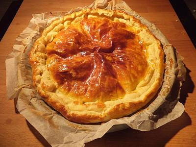 Photograph - Tourte by Marc Philippe Joly