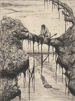 Drawing - Tarzan  by Erik Paul