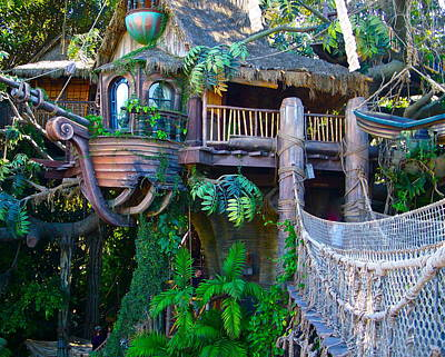 Photograph - Tarzan Treehouse by Karon Melillo DeVega