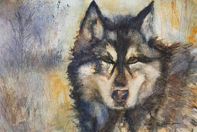 Painting - Tasha Wolf by Denice Palanuk Wilson