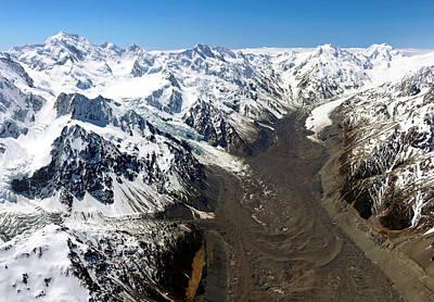 Photograph - Tasman Glacier by Nicholas Blackwell