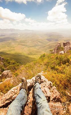 View Photograph - Tasmania Bushwalking Views by Jorgo Photography - Wall Art Gallery
