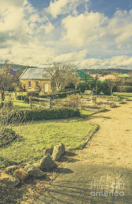 Winter Landscapes Photograph - Tasmania Garden Details by Jorgo Photography - Wall Art Gallery
