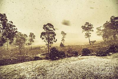 Tasmanian Blizzard Print by Jorgo Photography - Wall Art Gallery