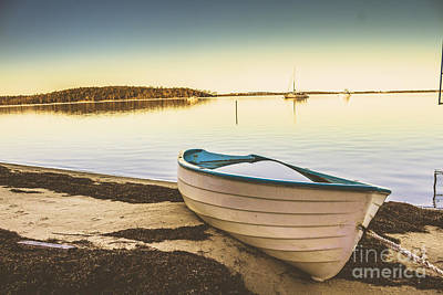 Overflow Photograph - Tasmanian Coastal Beach Landscape by Jorgo Photography - Wall Art Gallery