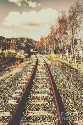 Norfolk Wall Art - Photograph - Tasmanian Country Tracks by Jorgo Photography - Wall Art Gallery