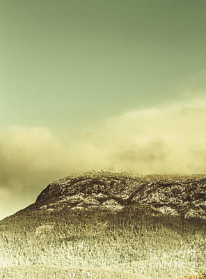 Claremont Photograph - Tasmanian Mountain Ranges by Jorgo Photography - Wall Art Gallery