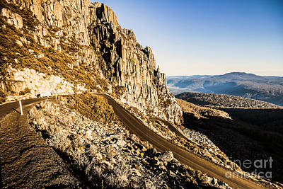 Country Road Wall Art - Photograph - Tasmanian Turns by Jorgo Photography - Wall Art Gallery