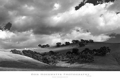 Photograph - Tassajara Clouds by PhotoWorks By Don Hoekwater