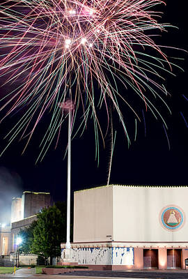 Photograph - Taste Of Dallas 2015 Fireworks by Rospotte Photography