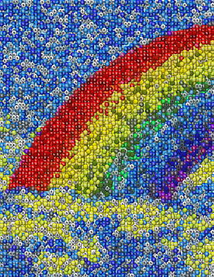 Classical Masterpiece Still Life Paintings - Taste The Rainbow by Paul Van Scott