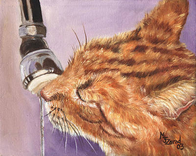 Painting - Tastey Water by Mary Jo Zorad