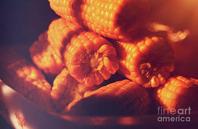 Photograph - Tasty Corn by Anna Om