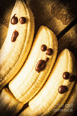 Banana Wall Art - Photograph - Tasty Healthy Halloween Treats For Kids by Jorgo Photography - Wall Art Gallery
