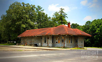 Photograph - Tate, Ga, Rr Depot by Marilyn Carlyle Greiner