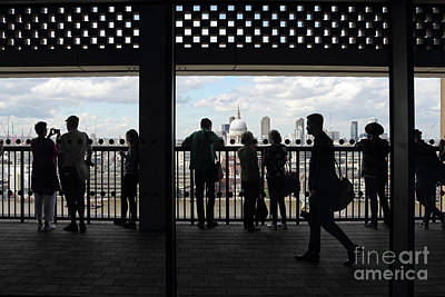 Photograph - Tate Modern Switch House Viewing Deck London by Julia Gavin