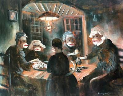 Tater Eaters Art Print