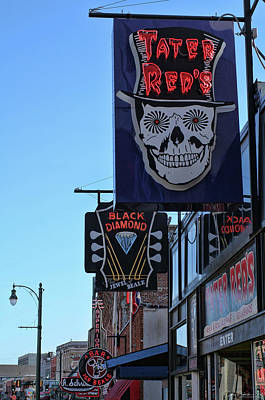 Photograph - Tater Red's Beale Street by Debby Richards