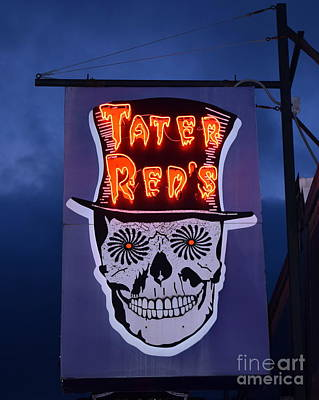 Voodoo Shop Wall Art - Photograph - Tater Red's by Betsy Warner