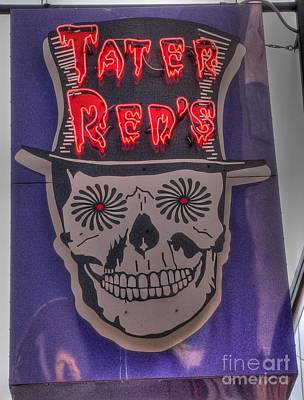Photograph - Tater Red's by David Bearden