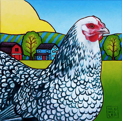 Painting - Tater by Stacey Neumiller