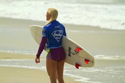 Photograph - Tatiana Weston-webb Surfergirl by Waterdancer