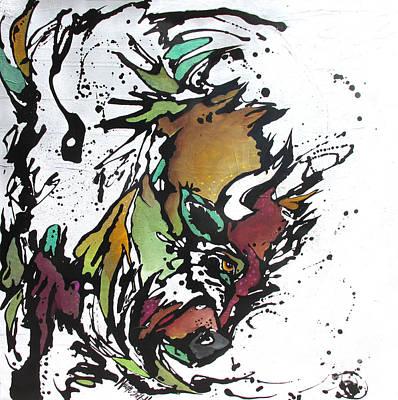 Tatonka Tt Art Print by Nicole Gaitan